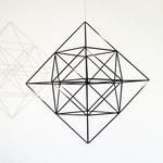 "Das Himmeli ""cubus"" passt perfekt in minimalistische Räume. © my-himmeli"