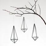 Himmeli No. 6 / triangle ( 3er Set), my himmeli