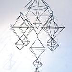Schlicht und edel: ein Himmeli ist ein zeitloses Designobjekt. © my-himmeli