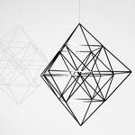 """Himmeli """"cubus"""": In der Bewegung zeigen sich immer neue faszinierende Ansichten. © my-himmeli"""