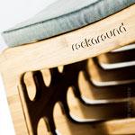 Rockaround - Rocking Stool - designer Tim Wigmore