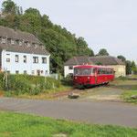 Fahrt durch den kleinen Ort Blumenthal - © Franz-Josef Dovern