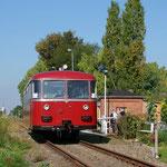 Derweil verlässt der VT 95 den reizvollen Haltepunkt Nemmenich