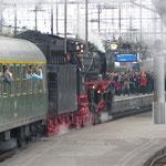 Einfahrt Köln in den Kölner HBF