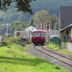 Beginn der Strecke am Abzweigbahnhof Kall - © Franz-Josef Dovern