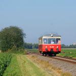 Nicht weniger interessant der Talbot T1, hier unterwegs bei Jakobwüllesheim in Richtung Zülpich