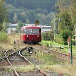 Der Bahnhof Blumenthal verfügt noch heute über sämtliche Nebengleise - © Franz-Josef Dovern
