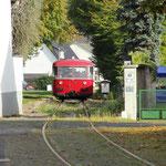 Zwischenhalt am Haltepunkt Olef - © Franz-Josef Dovern