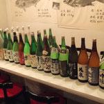毎月膨大な量と種類の日本酒が入荷します