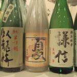 香りも良い季節の日本酒