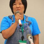 やまゆりファーム代表 岡田久子さん。