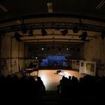 Regina Gavalas - Malerei, Heike Wrede - Tanz, Stage Sharing Kassel 2016 (foto©Karsten Socher)