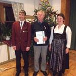 Wilhelm Vetter wurde vom Verein zum Ehrenmitglied ernannt