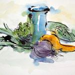 Still-Leben mit Vase