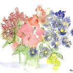Blumenstrauss – Aquarell-Mischtechnik II