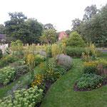 Garten im Christian Jensen Kolleg