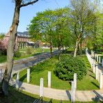 Gelände im Christian Jensen Kolleg