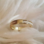 [No. 6] Schmaler Ring in 585/- Gold. Preis je nach Goldkurs ca. 500€