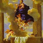 Nicolas Poussin. Hemelvaart Maria. 1630.