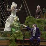 Opvoering Platée van J.P. Rameau. Parijs, Opera Garnier, 2007.