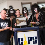 Jim Neff with Thad Zylka and Mr. Speed (KISS Tribute Band)