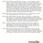 This is the itinerary for the 1975 event. Page 3