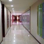 Pasillo interior de nuestras instalaciones.