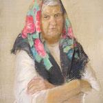 Портрет моей бабушки, пастель