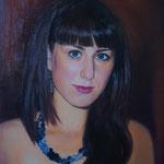Портрет девушки, маслом на холсте