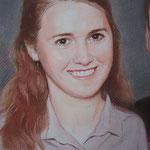Фрагмент, семейный портрет, пастель