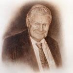 Портрет главного офтальмолога СПб, профессора, Ю.С.Астахова, сухая кисть