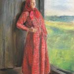 Наташа, пастель