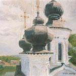 Купола, В.Устюг, смешаная техника