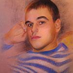 Портрет юноши, пастель