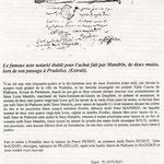 acte notarié de Mandrin à Pradelles