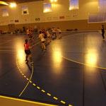 Concentrées et agressives en défense