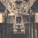 Dobraschütz, Kircheninneres nach 1914