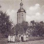 Wernsdorf, Kirche um 1920
