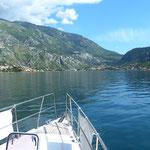 In the bay of Kotor
