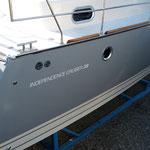 Treibstoffsparendes Motorboot