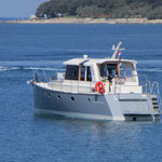 Fuel efficient modern trawler