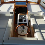 Treibstoffsparende Motoryacht