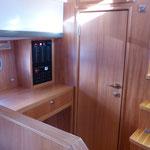 Salon im Trawler