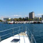 Einklarieren in Canakkale/Türkei
