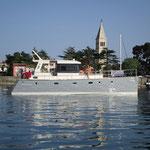 Langfahrt Motorboot