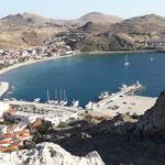Der Hafen von Limnos