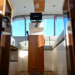 Long range power boat