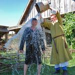 Waschatg bei den Normannen