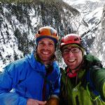 Joyeux Noël!! Glacenost, cascade de glace Haute-Maurienne