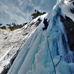 The last one, Glacenost, cascade de glace Haute-Maurienne